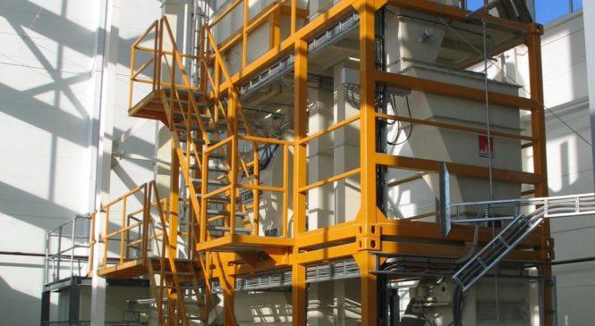 Событием года в ОАО «Журавлиное» стал запуск комбикормового завода
