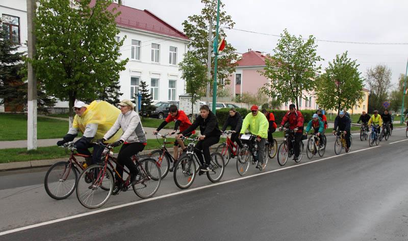 Велопробег ко Дню Победы прошел через Пружаны
