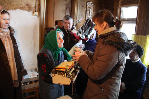 Жительница Пружан Ольга Куль отпраздновала 100-летний юбилей