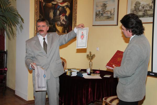 До 11-го колена смог проследить свою родословную уроженец д.Слобудка Владимир Аркадьев