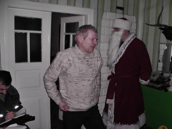 В Новогодние дни штрафы семейным скандалистам выписывал Дед Мороз