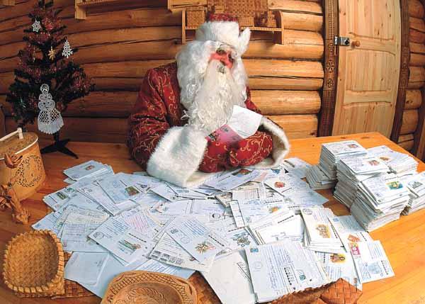 349 писем отправили Деду Морозу пружанские детишки