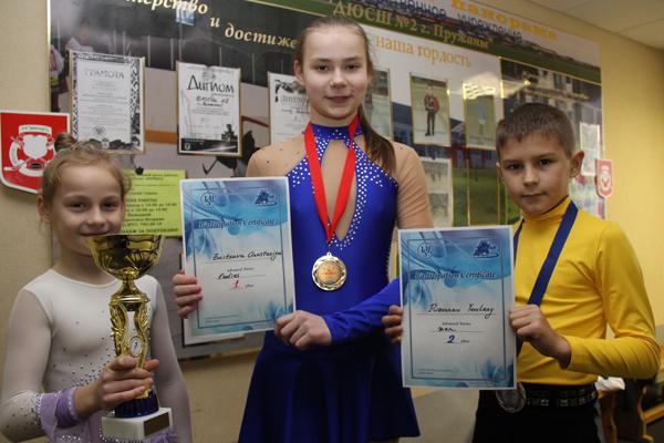 Елизавета Малиновская, Анстасия Зайцева и Евгений Пузанов