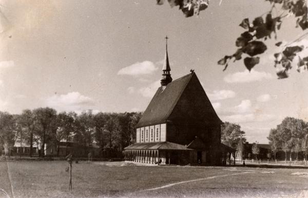 6. костел в слобудке 1930-е. фото блазинскиого 1