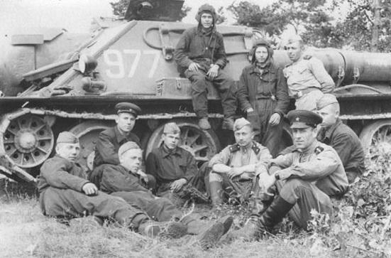 1. 64-й танко-самоход полк 1950-е