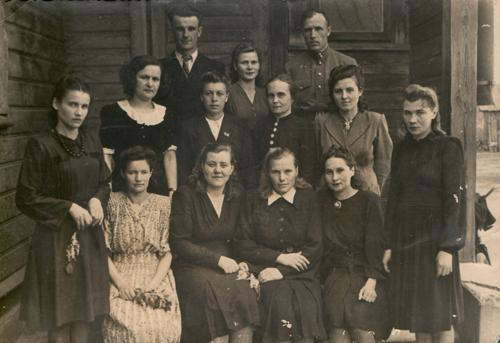 6.1948-49гг.Учителя Слободской  школы