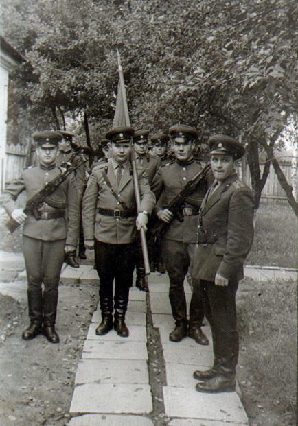 6. Батальён сувязі. кан. 1960-х гг.