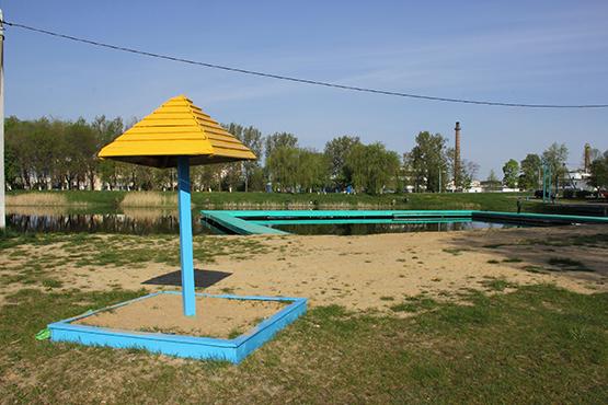 Сціплае ўпрыгожванне Пружанскага возера.