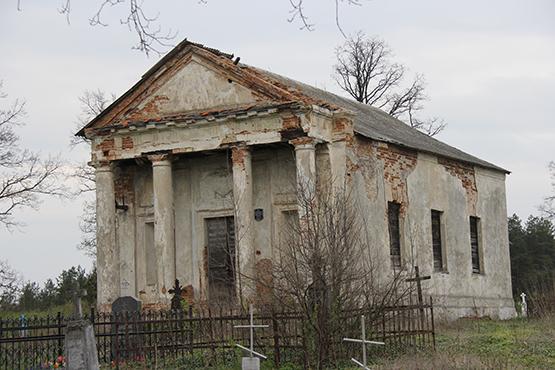 На благотворительный счет для реставрации каплицы Святого Казимира в Ружанах поступило всего около 3 миллионов рублей