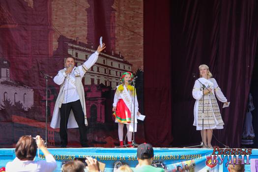 Сям'я Ганчар у абласным этапе конкурсу «Уладар сяла».