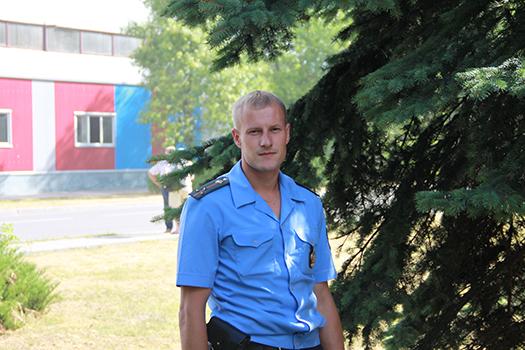 Милиционер, спортсмен и хороший семьянин. Знакомьтесь — Андрей Жук