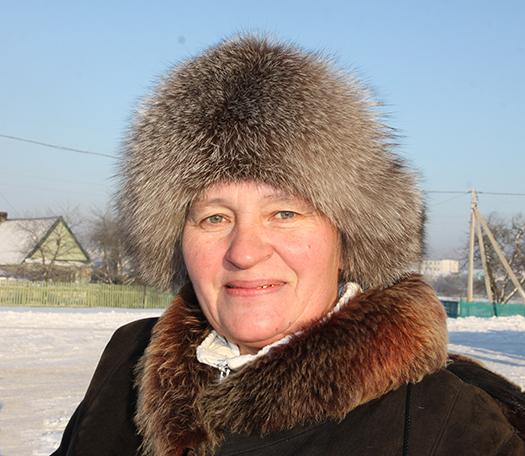 5 Эмілія Рыгораўна Пстыга, пенсіянерка
