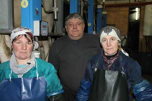 +651 кг молока от коровы за год. Животноводы ОАО «Шени-агропродукт» значительно улучшили надои