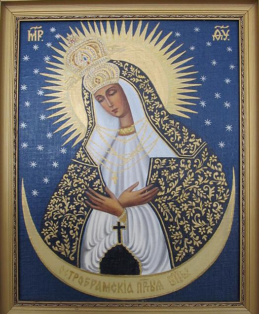 В музее-усадьбе «Пружанский палацык» проходит выставка икон Ядвиги Сенько