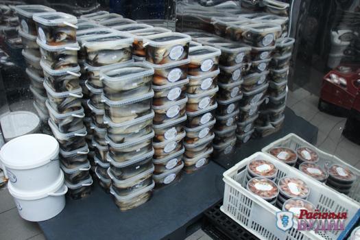 Рыбный день от рыбного цеха комбината кооперативной промышленности