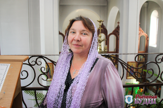 О красоте и гармонии церковного пения в интервью с регентом Свято-Николаевской церкви Алевтиной Левой