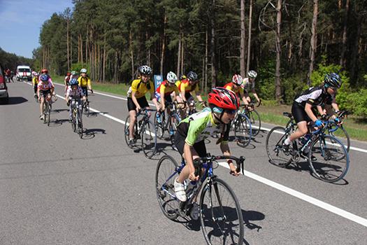 Наши велосипедисты стали вторыми в общекомандном зачете спартакиады школьников Брестской области