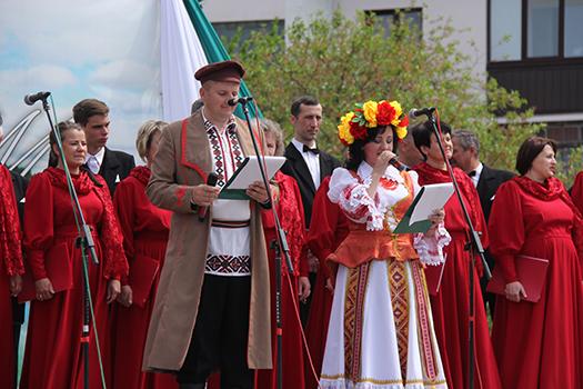 В Пружанах провели юбилейный фестиваль «Певчее поле»