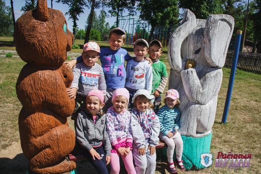 Все своими руками. В Могилевецком УПК детский сад-средняя школа обеспечивают себя овощами и создают красоту вокруг