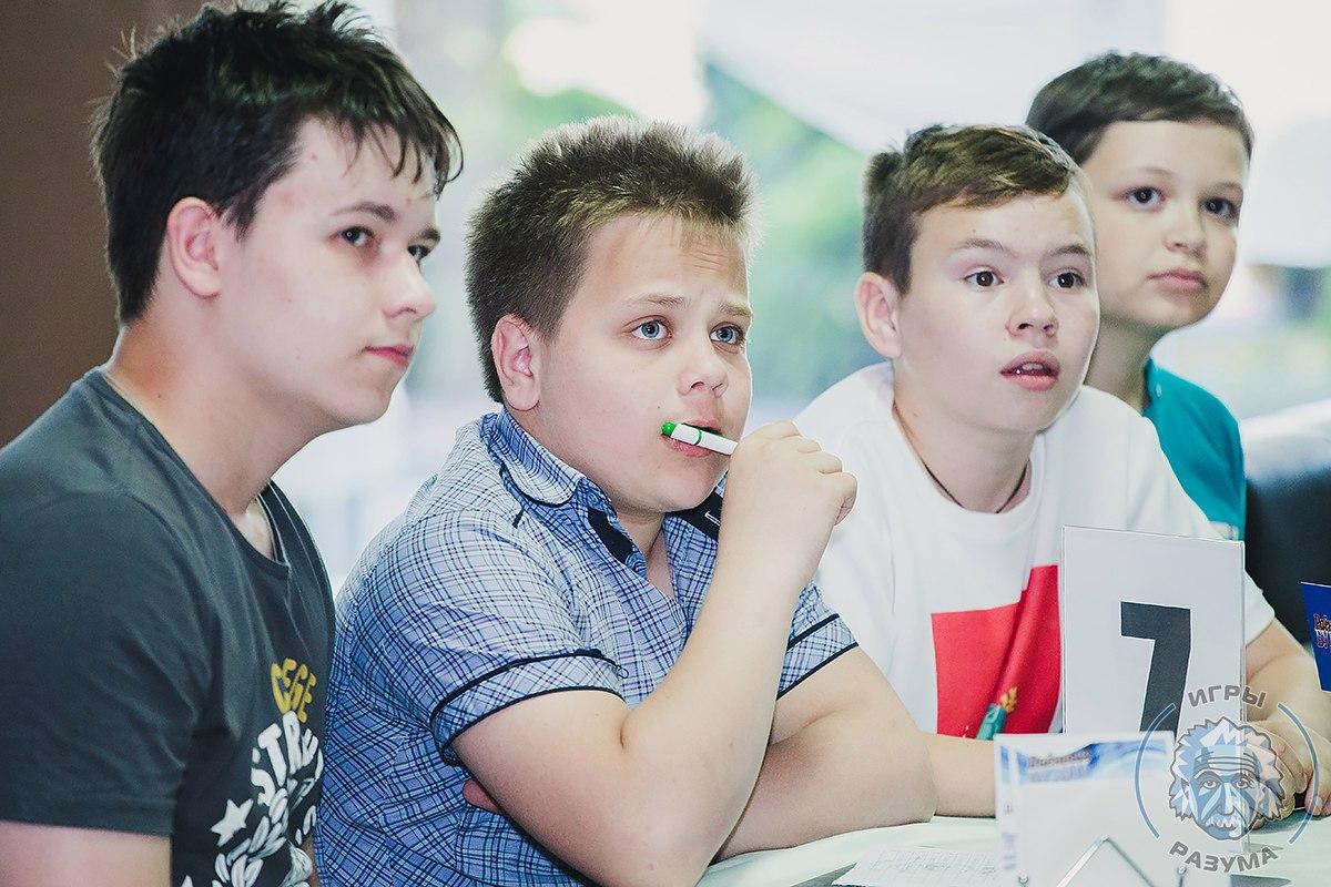 Самая юная команда за всю историю «Игр Разума»: «Мы не играем, мы тренируемся»