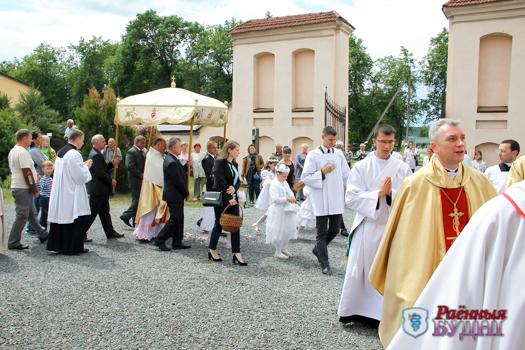 Костелу Святой Троицы в Ружанах исполнилось 400 лет. Поздравления передал сам Папа Римский