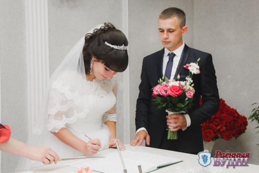 В ЗАГСе провели сотую за год регистрацию брака
