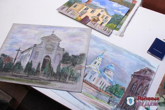 Участники Международного пленэра представят свои картины в Центральной районной библиотеке. Не пропустите!