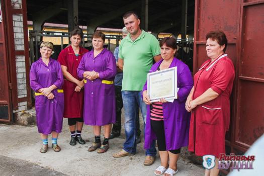 МТК «Староволя» признан лучшим в области по показателям производства молока