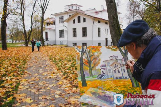 У музеі-сядзібе «Пружанскі палацык» адкрылася новая выстава і прайшоў мастацкі пленэр