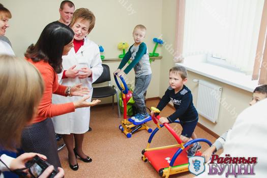 В Пружанской ЦРБ открылись кабинеты ЛФК и физиотерапии с новым оборудованием