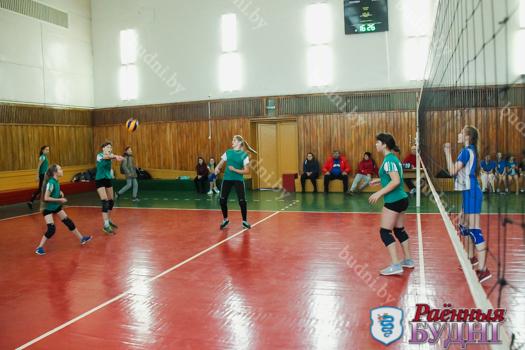 Юноши и девушки из Мокровской СШ победили в открытом первенстве города по волейболу