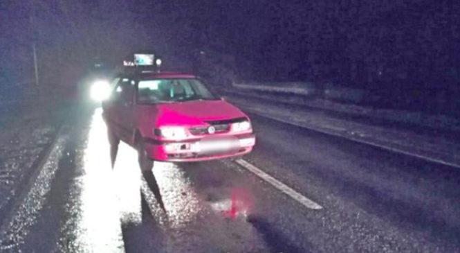 17-летняя жительница Березы попала под колеса автомобиля. Возможно, это спасло ей жизнь