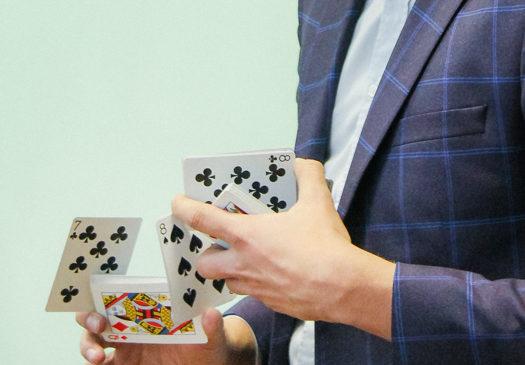 Одиннадцатиклассник Максим Гумен вошел в семерку сильнейших на Международном иллюзионном фестивале «MINSK MAGIC 2017»