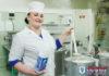 Шеф-повар Порослянской СШ готовит «правильные» котлеты!