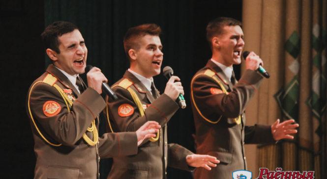 Академический ансамбль песни и танца Вооруженных Сил Республики Беларусь дал концерт в Пружанах