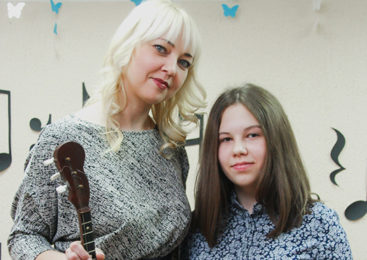 Домристка из Новозасимовичской ДШИ  получила диплом ІІ степени на Международном фестивале