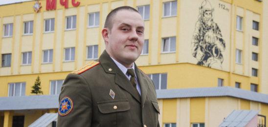 Инспектор Николай Дронь победил в областном профессиональном конкурсе и стал вторым в республиканском