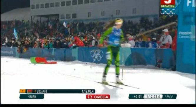 Еще одно золото! Белорусские биатлонистки выиграли олимпийскую эстафету!