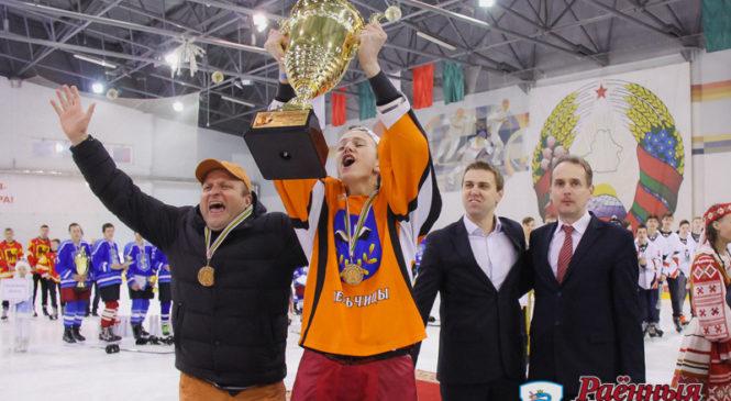 Финал «Золотой шайбы» завершился в Пружанах. Победа снова у лельчицкого «Альянса»