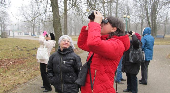 Встреча с птицами «при галстуках». Корреспондент делится впечатлениями от занятий в «Школе бёрдвотчера»