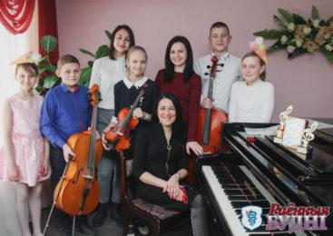 Пружанские виолончелисты покорили «Новые вершины»