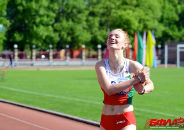 Уроженка Пружан Анна Зубкова установила новый рекорд Беларуси в спортивной ходьбе на дистанции 3000 м