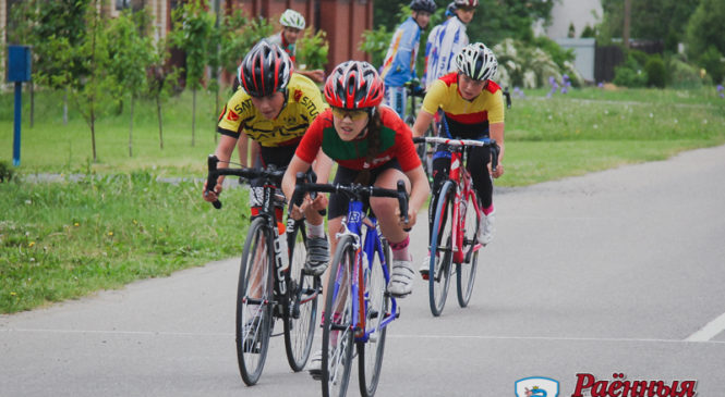 На областной спартакиаде пружанские велосипедисты уступили только брестчанам
