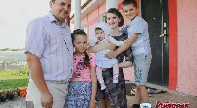 Дела семейные. Журналисты побывали в гостях у председателя Шерешевского сельсовета