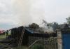 Причиной пожара в Ялово возможно стала молния