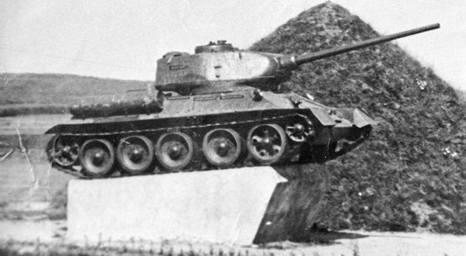 Машина Победы  — легендарный танк «Т-34»