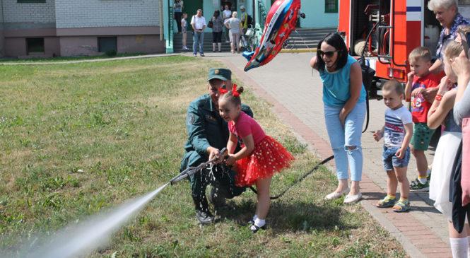 В Пружанском районе в 4 этапа прошла акция «Не оставляйте детей одних!»