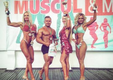 Пружанец «поиграл мышцами» и стал победителем Открытого международного турнира «MUSCUL & MODEL FEST 2018»!