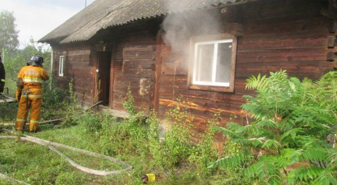Возможная причина пожара в Котылах — поджог