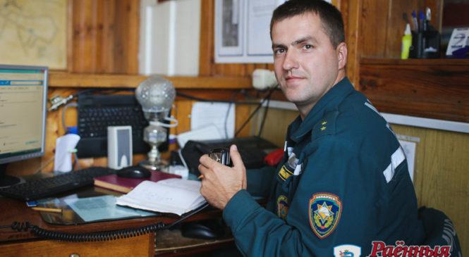 К 165-летию пожарной службы репортаж с пожарного аварийно-спасательного поста в г.п. Шерешево